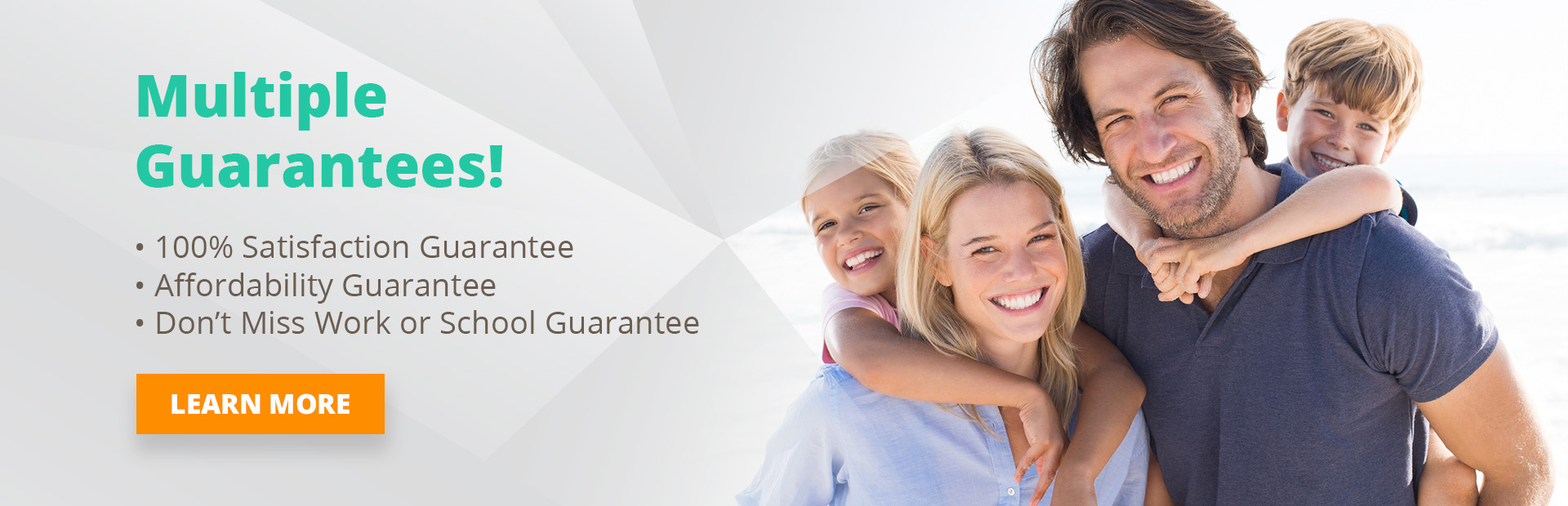 multiple guarantees at bluffton orthodontics